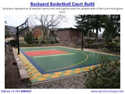 Build A Basketball Court In Backyard Sport Court In Eastern Pennsylvania