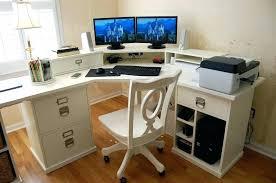 Large Gaming Desk U Shaped Gaming Desk Interque Co
