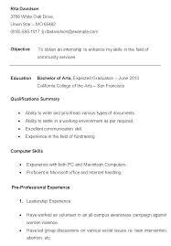 basic resume sles for college students student resume format vsdev info
