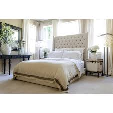 upholstered beds king bed with tall tufted headboard idolza