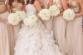 bridesmaid dresses metallic bridesmaid dress styles from real