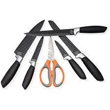 professional kitchen knives set of 5 scissors u2013 homekitchenstar