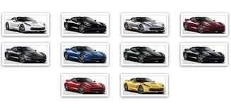 2014 corvette colors official 2014 corvette stingray colors list