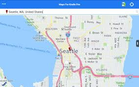 Seattle Ferry Map by Amazon Com Maps For Kindle Fire Free Appstore For Android