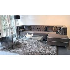 Sectional Sofa With Chaise Lounge Velvet Sectional Sofas With Chaise U2013 Ipwhois Us