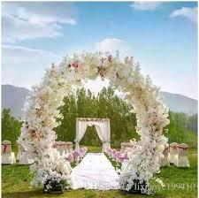 wedding arch garland 1 meter artificial simulation cherry blossom flower bouquet