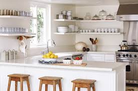 floating kitchen shelves with lights kitchen with wraparound floating shelves transitional kitchen