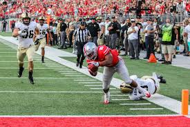 running back j k dobbins serving as catalyst for ohio state offense