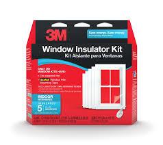 3m indoor window insulator kit for 5 windows weatherproofing
