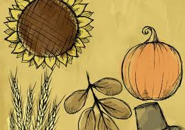 fall thanksgiving sketch brushes free photoshop brushes at