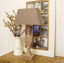 agreeable tiny wood table lamp with stained glass shades in