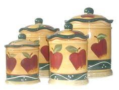 apple canisters for the kitchen apple decor kitchen canisters exclusives at collectionsetc
