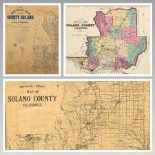 solano county map road maps added to collection