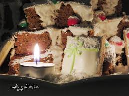 curly kitchen gingerbread cake christmas tree centerpiece