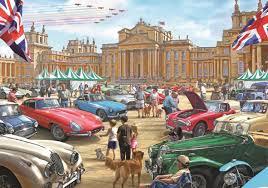 falcon games classic car show jigsaw puzzle 1000 piece multi