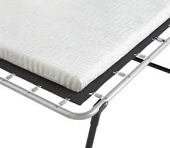 Folding Bed With Mattress Symple Stuff Folding Bed With Mattress Reviews Wayfair