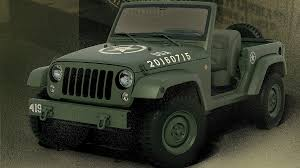 military jeep png wrangler 75th salute concept celebrates original military jeep