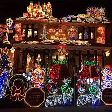best christmas house decorations christmas house decorations good house lit up stock photos