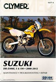 dr z400 drz400 suzuki 2000 2012 clymer motorcycle repair manual