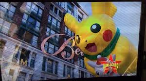 pikachu in the macy s day 2017 parade