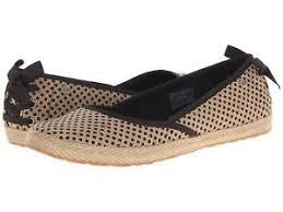 ugg womens indah shoes black s ugg indah burlap slip on style 1004329 original authentic