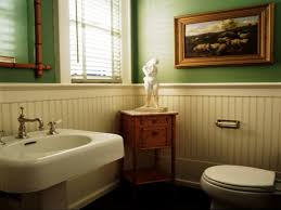 bathroom elegant bathroom decorating ideas with wainscoting in