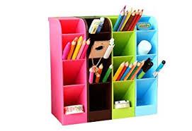 rangement pour bureau jungen boîte de rangement stylos et crayons multifonction pot de