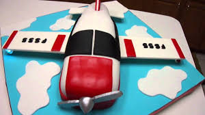 airplane birthday cake youtube