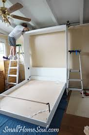 Murphy Bed Directions To Build Our Murphy Bed Project From A Diy Kit Small Home Soul