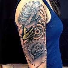 butterfly half sleeve creativefan