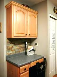 kitchen crown moulding ideas crown molding ideas for kitchen cabinets home design inspirations