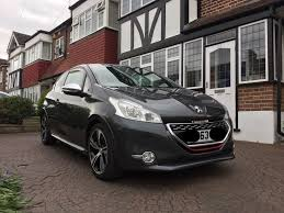 peugeot 208 gti peugeot 208 gti prestige 2013 limited edition colour spec