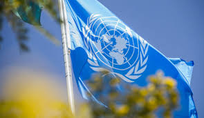 United Nation Flag Report Of The Secretary General On The United Nations Mission In