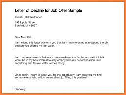 letter of rejection for offer 100 images 11 best sle admission
