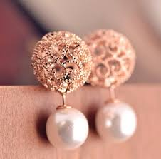 trendy gold earrings earrings logo picture more detailed picture about hot sale