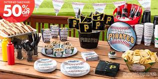 baseball party supplies mlb pittsburgh party supplies party city