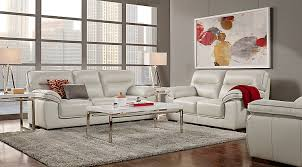White Leather Living Room Furniture Leather Living Room Sets Furniture Suites