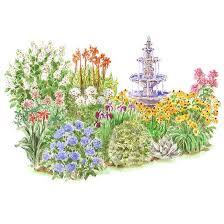 garden clipart perennial pencil and in color garden clipart