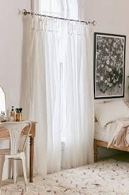 Plum And Bow Curtains Plum Bow Gathered Voile Curtain Outfitters