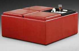 multipurpose cube ottoman offers additional seating and storage