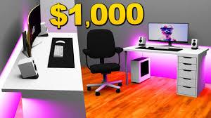 1000 desk setups setup builds youtube
