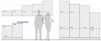 hauteur meuble bas cuisine espace entre plan de travail et meuble haut unique norme hauteur