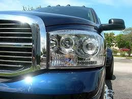 halo headlights for dodge ram 1500 2006 2008 ram 1500 06 09 ram 2500 3500 clear projector