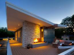 contemporary outdoor fireplace ideas extraordinary ideas of
