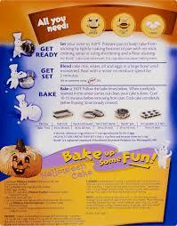 halloween cake mix pillsbury halloween