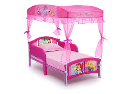 Princess Canopy Bed Princess Toddler Canopy Bed Delta Children