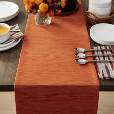 table runner grasscloth 90 orange table runner in table runners reviews