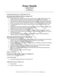 Sample Resume For Lvn by Lvn Resume Template Billybullock Us