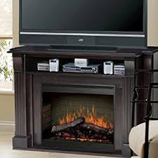 Amazon Fireplace Tv Stand by Amazon Com Langley 55
