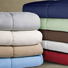 Light Weight Down Comforter Double Stitched Microfiber Hypoallergenic Down Alternative